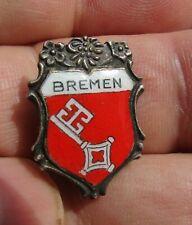 Abzeichen Pin : Bremen Stadtwappen Schlüssel Anstecknadel 1930er Jahre