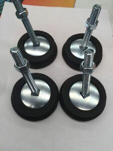 Standard pinball machine leg leveler and rubber feet pack