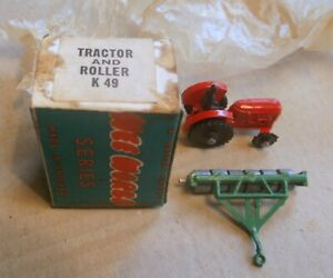 WARDIE MASTER MODELS / WEE WORLD- K 50 TRACTOR AND Roller, Boxed