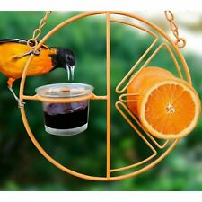 Heath Clementine Oriole Feeder, Holds Jelly, Fruit, Nectar, or Mealworms /dm