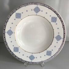 Villeroy und Boch AZUREA weiß blau  SUPPENTELLER  24,5 cm unbenutzt
