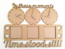 Clock Photo Frame In These Moments Time Stood Still