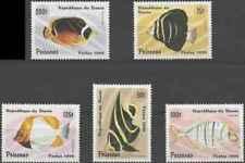Timbres Poissons Bénin 710BZ/CD ** lot 26908
