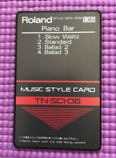 Roland Music Style Card Piano Bar TN-SC1-06