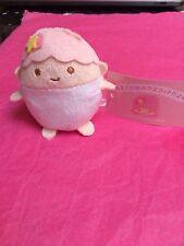 Sanrio Little Twin Stars LALA Egg Shape Plush Doll Mascot - US seller