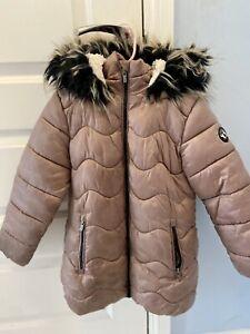 Girls Next Padded Winter Coat Age 6-7 Years
