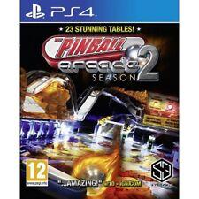 Pinball Arcade Season 2 (PS4) BRAND NEW SEALED PLAYSTATION 4