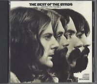 THE BYRDS / THE BEST OF THE BYRDS  / GREATEST HITS VOL. II - US IMPORT - CD 1987