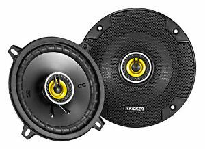"""Pair KICKER 46CSC54 5.25"""" 450 Watt 4-Ohm 2-Way Car Audio Coaxial Speakers CSC54"""