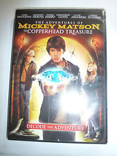 Mickey Matson and the Copperhead Conspiracy / Treasure DVD adventure movie NEW!