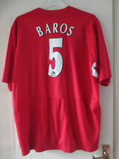 "Liverpool 2004-2005 Home Football Shirt Size XXL 50-52"" /35482"