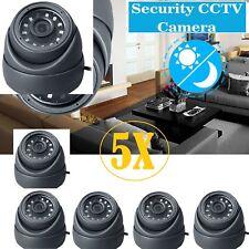 5 x Sony CCTV 4 IN1 Dome Camera 2.4MP NIGHT VISION HD CVI 238AHD TVI Analog UK