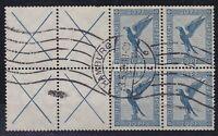 DR ZD W 21.2 aus H-Blatt 49, TOP rund gest. Hamburg 03.05.1934, Zusammendruck