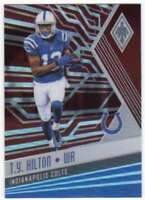 2017 Panini Phoenix Football Red Parallel /299 #13 T.Y. Hilton Colts