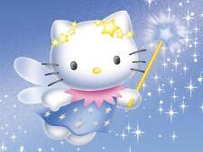 Hello Kitty Fairy Wand TShirt Iron on Transfer 5x6