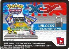 POKEMON TCG online 10x XY BASE SET CODE CARDS FOR DIGITAL BOOSTER PACKS
