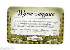 DF45 CARTE WYRM SANGSUE ACCESSOIRE DREADFLEET