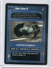 Star Wars CCG Limited  Vader,s Custom TIE  card
