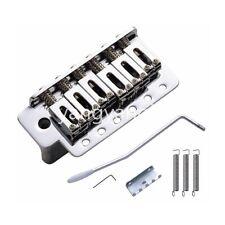 Chrome Electric Guitar Bridge Tremolo Bridge System For Fender Strat Guitar