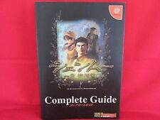 Shenmue complete strategy guide book /Dreamcast, DC