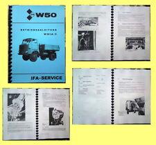 IFA W50 LA/Z Betriebsanleitung W 50 LA Allrad Kipper