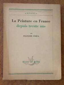 Peinture en France Fosca Après Guerre