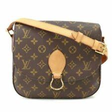 AUTHENTIC LOUIS VUITTON LV Monogram Saint Cloud GM Shoulder Bag / Purse