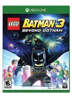 NEW LEGO Batman 3: Beyond Gotham (Microsoft Xbox One, 2014)