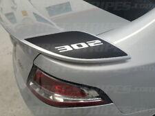 FG GS FALCON XR8 XR6 'Rear Wing Spoiler Decals' BOSS 302 290