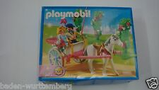 Playmobil 5871 Princess w/horse carriage mint in Box Fairy Magical wagon GARAGE