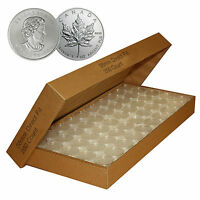 250 Direct-Fit Airtight H38 Coin Capsule Holder For CANADIAN MAPLE LEAF 1 oz