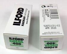 Lot de 2 films Ilford DELTA 400 ISO 120, utilisable jusqu'à avril 2020