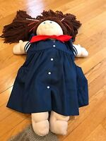 Beautiful Handmade Vintage Cabbage Patch Little People Soft Sculpture Doll