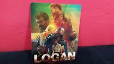 LOGAN (x-men) - 3D Lenticular Magnet / Magnetic Cover for BLURAY STEELBOOK