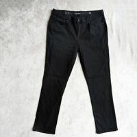 Womens LEVI'S Demi Curve Jeans Slim fit Straight Denim Stretch UK 14/16 W36 L32