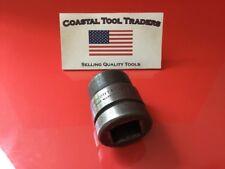 "Wright Tools USA 8836 1-1/8"" 1"" Drive 6 Point Socket #849"