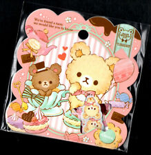 Q-lia Creamy Chocolat Pot Sticker Sack Flakes seals Kawaii Stationery Stickers