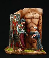 Elite: Egyptian Mamluk, 1785 Tin toy soldier 54 mm,metal sculpture