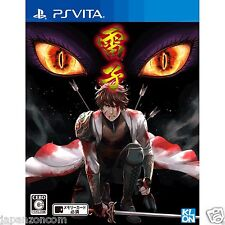 Raishi  PS Vita SONY JAPANESE NEW JAPANZON