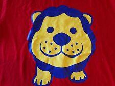 Yoshimoto Kogyo Taka Toshi RARE Lion t shirt Japanese Comedy duo RED - L