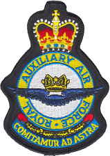 Royal Auxiliary Air Force RAuxAF MOD Crest Embroidered Patch