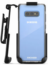 Encased Samsung Galaxy S10 Plus Belt Clip Clear Case w Holster Transparent Cover