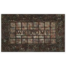 Achim Raised Rubber Mat Pebble Squares - 18x30- RRM1830PS6 Door Mat NEW