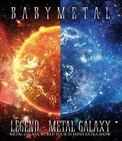 BABYMETAL LEGEND METAL GALAXY WORLD TOUR IN JAPAN EXTRA SHOW Blu-ray