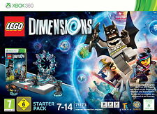 LEGO Dimensions - Starter Pack (Microsoft Xbox 360, 2015, DVD-Box)