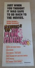 REVENGE OF THE PINK PANTHER ORIGINAL 1978 CINEMA DAYBILL POSTER Peter Sellers
