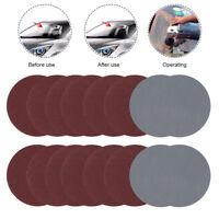 """100pc 75mm 3"""" Sanding Discs Pads Sandpaper Sander Hook & Loop 80-3000 GRITS UK"""