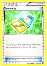 4x Pokemon XY BREAKthrough Town Map 150/162 Uncommon Card