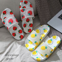 FP- Cute Strawberry Fruit Sports Shower Sandals Bath Slippers Women Shoes Utilit