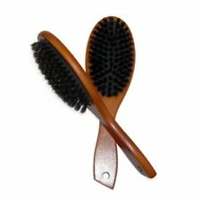 Natural Boar Bristle Hairbrush Massage Comb Anti-static Hair Scalp Paddle Brush